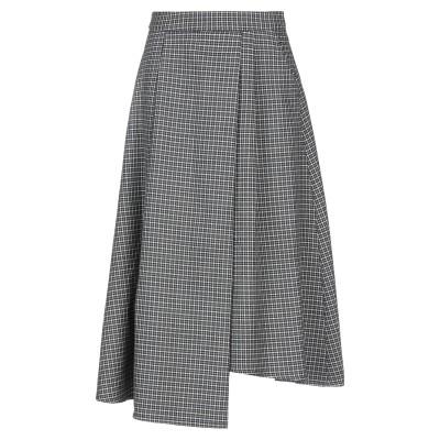 ブライアン デールズ BRIAN DALES 7分丈スカート グレー 42 ウール 100% 7分丈スカート