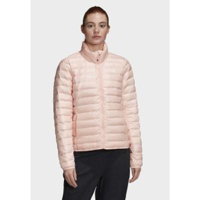 アディダス レディース ジャケット&ブルゾン アウター VARILITE OUTDOOR DOWN - Down jacket - pink pink