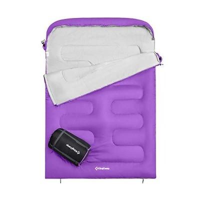 KingCamp Envelope Sleeping Bag 3 Season Lightweight Comfort Portable Great