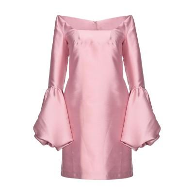 NORA BARTH ミニワンピース&ドレス ピンク 40 85% ポリエステル 15% シルク ミニワンピース&ドレス