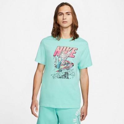 ナイキ Tシャツ メンズ 上 NIKE グラフィック 半袖 NSW ビーチ ジェット スキー S/S Tシャツ DD1281 GRN 送料無料 新作