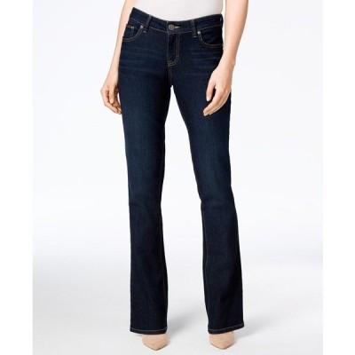 スタイルアンドコー デニムパンツ ボトムス レディース Curvy-Fit Bootcut Jeans in Regular, Short and Long Lengths,  Stream Wash