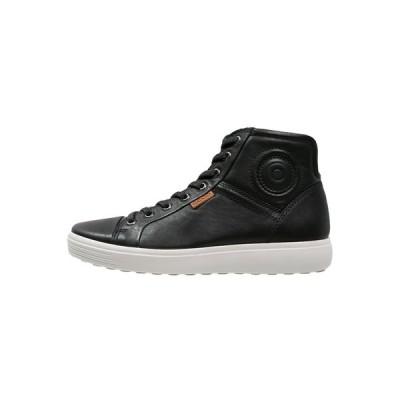 エコー スニーカー メンズ シューズ SOFT 7 - High-top trainers - black