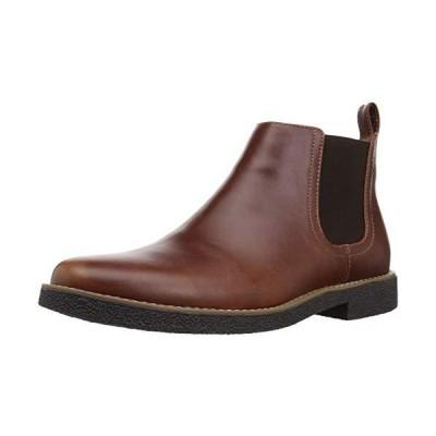 Deer Stags Men's Rockland Memory Foam Dress Casual Comfort Chelsea Boot, Re