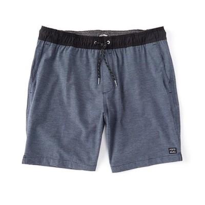 ビラボン メンズ ハーフパンツ・ショーツ ボトムス Crossfire Elastic-Waist 19 Outseam Walk Shorts