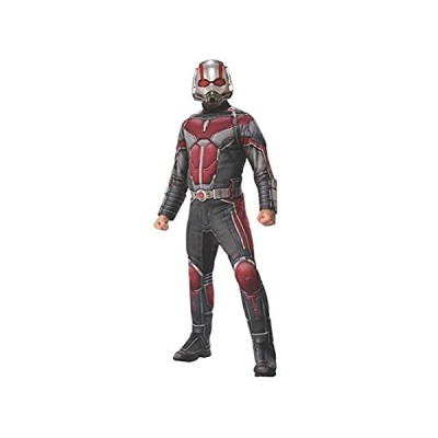 Rubie's Adult 700747 Marvel Avengers: Endgame Deluxe Ant-Man Costume and Ma