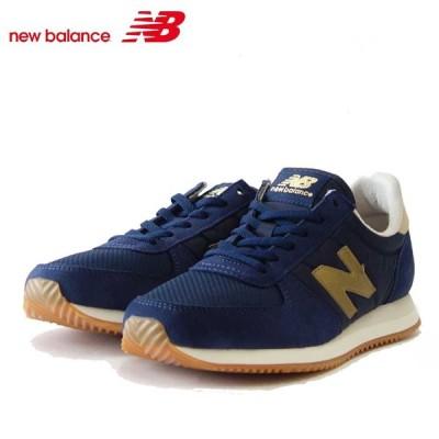 new balance ニューバランス WL220AA2 ネイビー/ゴールド (レディース) クラシックなランニングシューズ