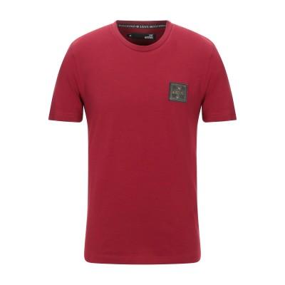 ラブ モスキーノ LOVE MOSCHINO T シャツ ボルドー XS コットン 95% / ポリウレタン 5% T シャツ