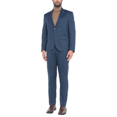 BARBATI スーツ ダークブルー 56 ポリエステル 85% / レーヨン 13% / ポリウレタン 2% スーツ