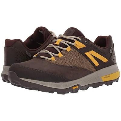 メレル Zion Waterproof メンズ スニーカー 靴 シューズ Seal Brown