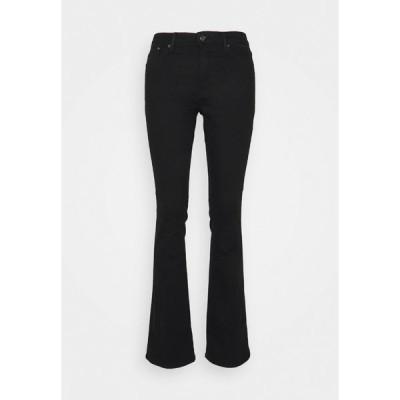 エスオリバー デニムパンツ レディース ボトムス Bootcut jeans - black