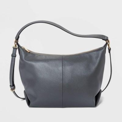 ニューデイ A New Day レディース ショルダーバッグ バッグ Zip Closure Square Crossbody Bag - Gray