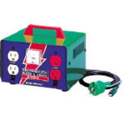 日動 [M-E20] 変圧器 昇圧器ハイパワー 2KVA アース付タイプ (100V-115・125V) ME20