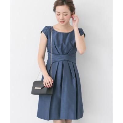 ドレス COUTURE MAISON ウエストクロスワンピース