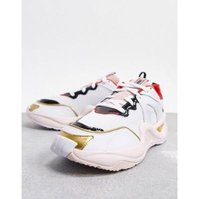 プーマ レディース スニーカー シューズ Puma x Charlotte Olympia rise sneakers in white White