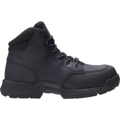 ウルヴァリン メンズ ブーツ・レインブーツ シューズ Wolverine Men's Carom 6'' Waterproof Composite Toe Work Boots