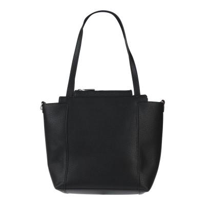 VERSACE JEANS ハンドバッグ ブラック ポリエステル 100% / ポリウレタン樹脂 ハンドバッグ