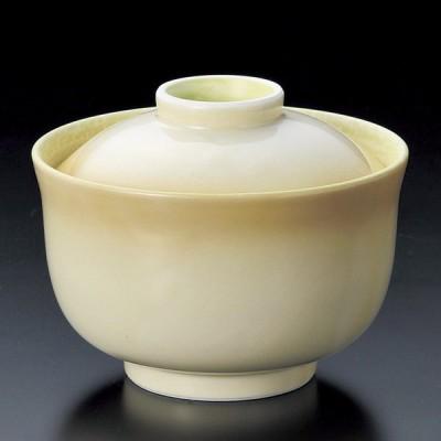 陶雅 黄彩円菓子碗