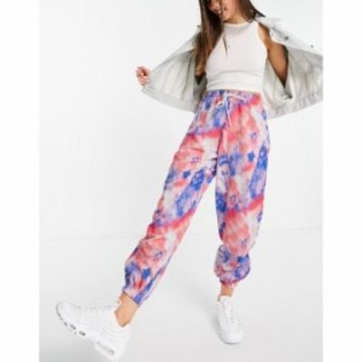 アイソウイットファースト I Saw It First レディース ジョガーパンツ ボトムス・パンツ tie dye jogger in pink グリーン