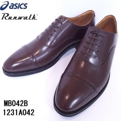 アシックス ASICS ランウォーク ストレートチップ ビジネスシューズ メンズ 靴 MB042B 1231A042 2E