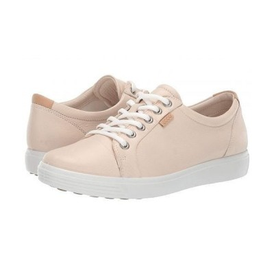 ECCO エコー レディース 女性用 シューズ 靴 スニーカー 運動靴 Soft 7 Sneaker - Vanilla Metallic Cow Leather