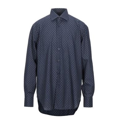 カリバン CALIBAN シャツ ダークブルー 44 ポリエステル 70% / コットン 30% シャツ
