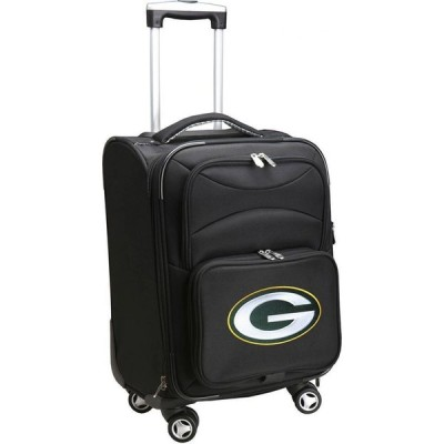 """NFL ユニセックス スーツケース・キャリーバッグ バッグ Mojo 20"""" Spinner Carry On Suitcase Green Bay Packers"""