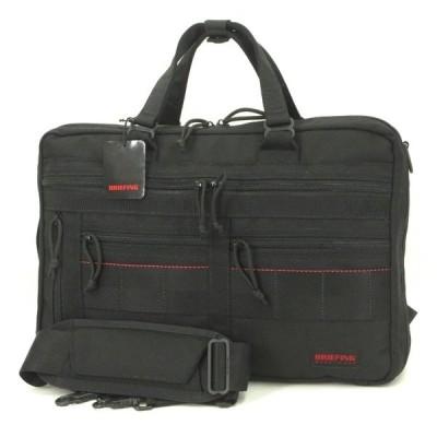 美品 BRIEFING ブリーフィング A4 3WAY LINER ブリーフケース ビジネスバッグ バックパック BRM181401 ブラック 黒  バッグ 鞄  中古 60006428