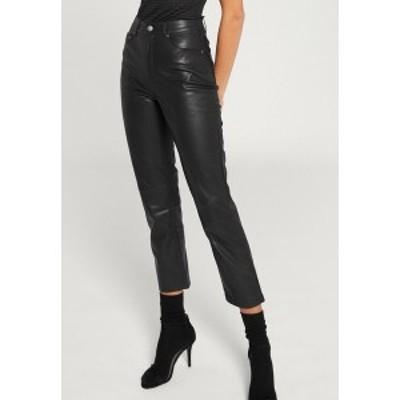 エディテッド レディース カジュアルパンツ ボトムス MARESA - Trousers - black black