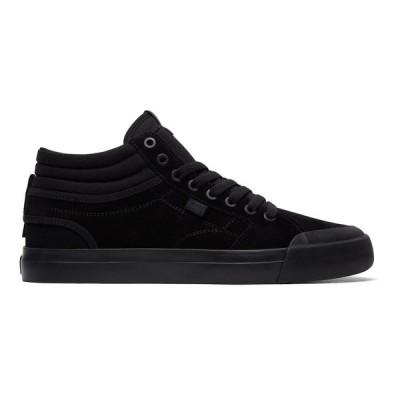 カジュアルシューズ ディーシーシューズ DC Shoes Evan Smith Hi S High Top Skate Shoes ADYS300380 BLACK/BLACK