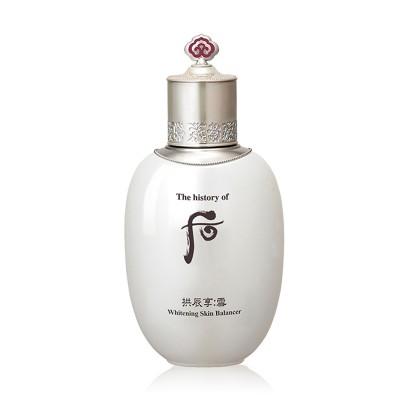 WHOO (THE HISTORY OF WHOO) Gongjinhyang Seol Radiant White Balancer  后(フー)  拱辰享(ゴンジンヒャン) 雪 美 白 バランサー
