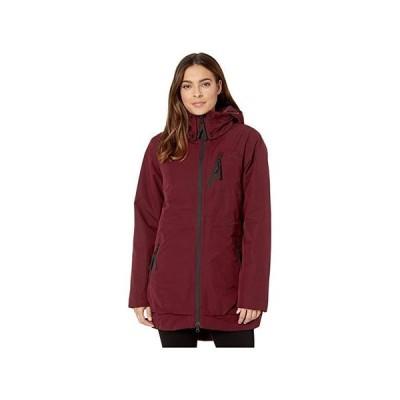 ザ・ノースフェイス Millenia Insulated Jacket レディース コート アウター Deep Garnet Red