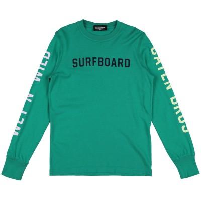 ディースクエアード DSQUARED2 T シャツ グリーン 10 コットン 100% T シャツ