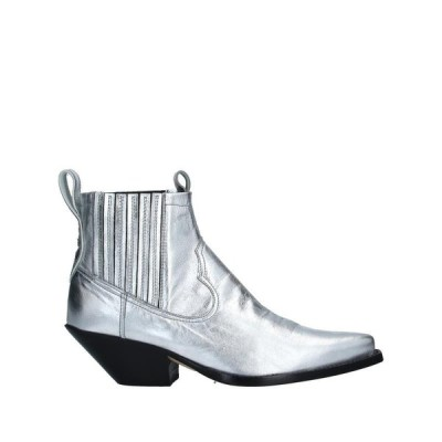 MATERIA PRIMA by GOFFREDO FANTINI ショートブーツ  レディースファッション  レディースシューズ  ブーツ  その他ブーツ シルバー