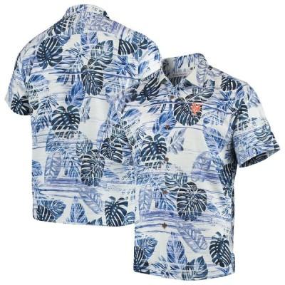 """トミーバハマ メンズ シャツ """"New York Mets"""" Tommy Bahama Sport Super Fan Silk Camp Shirt - Royal"""