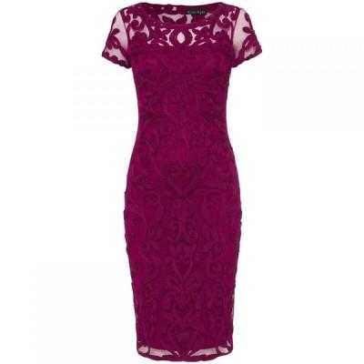 フェイズ エイト Phase Eight レディース ワンピース ワンピース・ドレス Sheena Tapework Dress Magenta