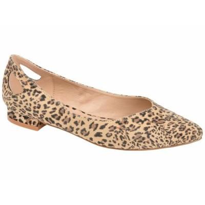 ジャーニーコレクション サンダル シューズ レディース Devon Flat Leopard
