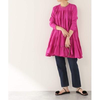 レディース ジャーナルスタンダード 【MERLETTE/マーレット】SOLIMAN DRESS:ワンピース ピンク B S