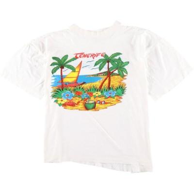 BEACH CLUB プリントTシャツ レディースXXL /eaa058786