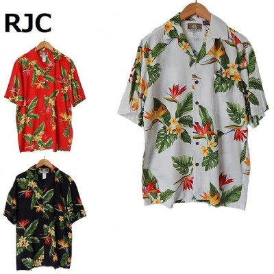 RJC アロハシャツ レーヨン ハワイ製 MADE IN HAWAII
