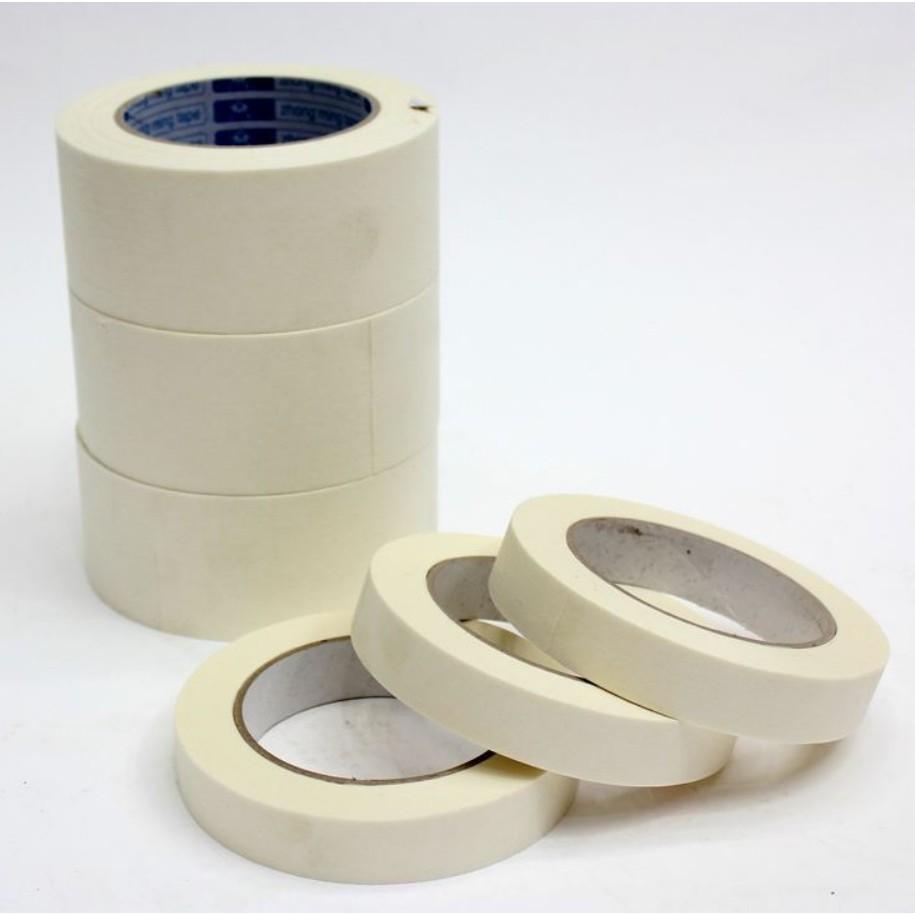美紋紙膠帶-紙膠帶-裝修裝潢美紋膠紙-噴漆可手撕單面膠(寬1公分,2公分,3公分,4公分,5公分,7.5公分)-長50米