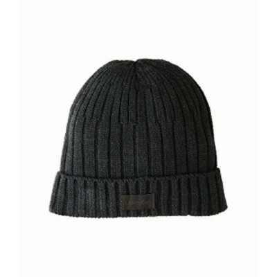 カルバンクライン メンズ ハット キャップ 帽子 Three-Tiered Rib Beanie