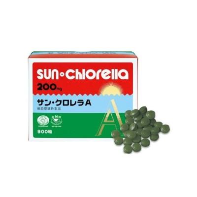 サンクロレラA 900粒 60日分 クロレラ クロレラ食品 ホールフード 栄養補助食品 送料無料