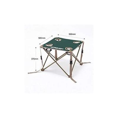 キャプテンスタッグ(CAPTAIN STAG) テーブル CS コンパクトテーブル グリーン M-3886