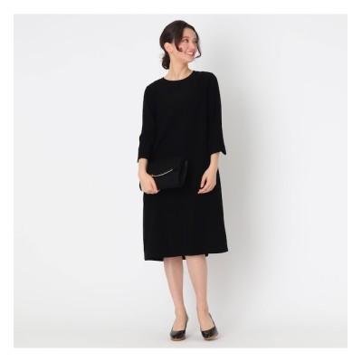 【クチュール ブローチ/Couture brooch】 【ママスーツ/入学式 スーツ/卒業式 スーツ】ガルーダサックワンピース