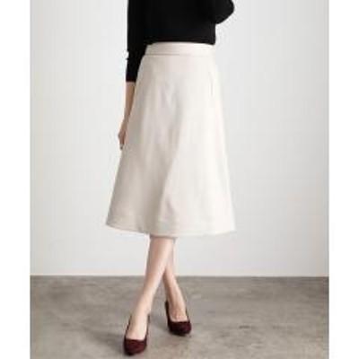 ビス【EASY CARE】パイピングナロースカート【お取り寄せ商品】