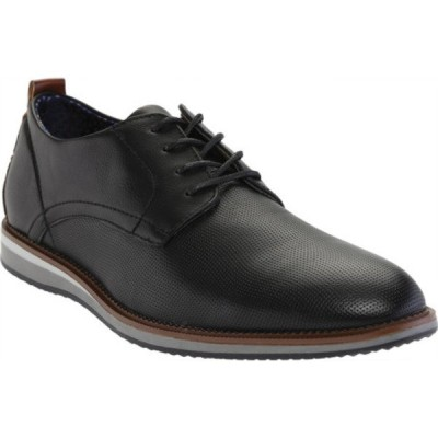 マデン ドレスシューズ シューズ メンズ Hainnz Perforated Plain Toe Oxford (Men's) Black Synthetic Leather