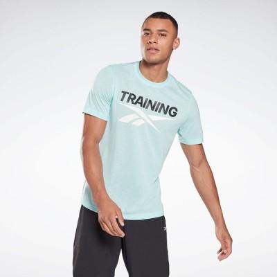リーボック Reebok メンズ フィットネス・トレーニング Tシャツ トップス Training Vector T-Shirt Athletic T-Shirts digital glow
