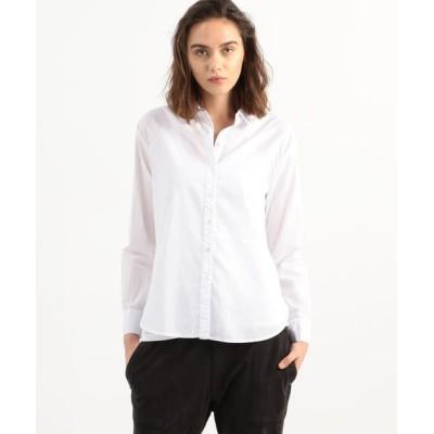 TOMORROWLAND/トゥモローランド コットン オーバーサイズドシャツ WLC3523 11 ホワイト 2(L)