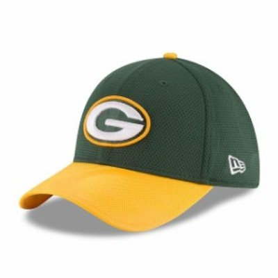 New Era ニュー エラ スポーツ用品  New Era Green Bay Packers Youth Green Sideline 39THIRTY Flex Hat